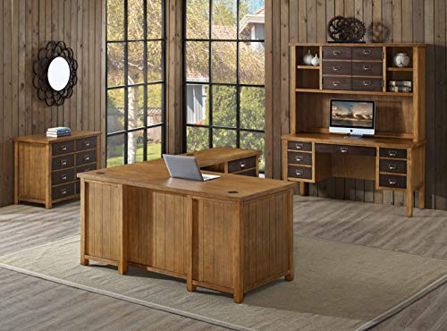 Martin Furniture IMHE660 Heritage Half Pedestal Desk 0 1