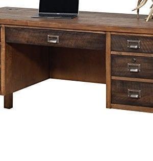 Martin Furniture IMHE660 Heritage Half Pedestal Desk 0 300x315