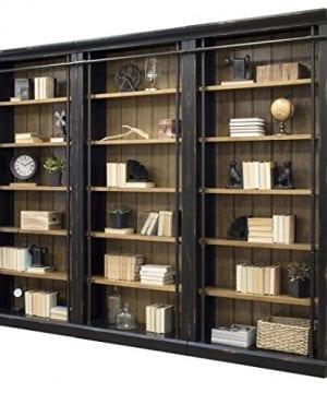 Martin Furniture IMTE4094x3 IMTE402 Toulouse 3 Bookcase Wall 0 2 300x360