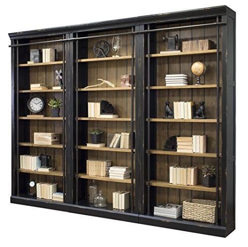Martin Furniture IMTE4094x3 IMTE402 Toulouse 3 Bookcase Wall 0 2