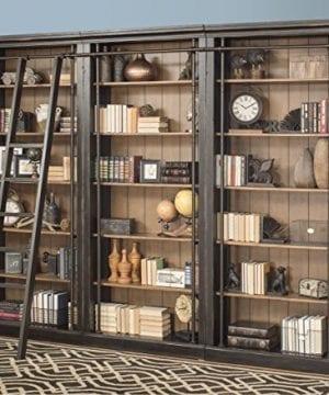 Martin Furniture IMTE4094x3 IMTE402 Toulouse 3 Bookcase Wall 0 3 300x360