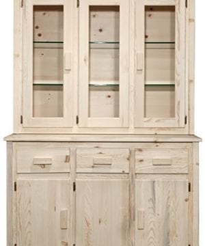 Montana Woodworks MWHCCHLD Homestead Collection China Hutch Sideboard Ready To Finish 0 300x360