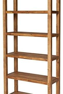 New Pacific Direct 802275 118 Tiburon Book Shelf Furniture Amber 0 244x360