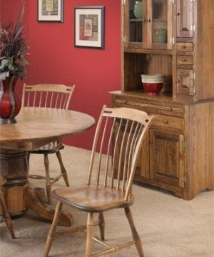 Pine Solid Wood Hoosier Hutch Cabinet Made In America Amish Handcrafted Special Walnut Stain 0 0 300x360