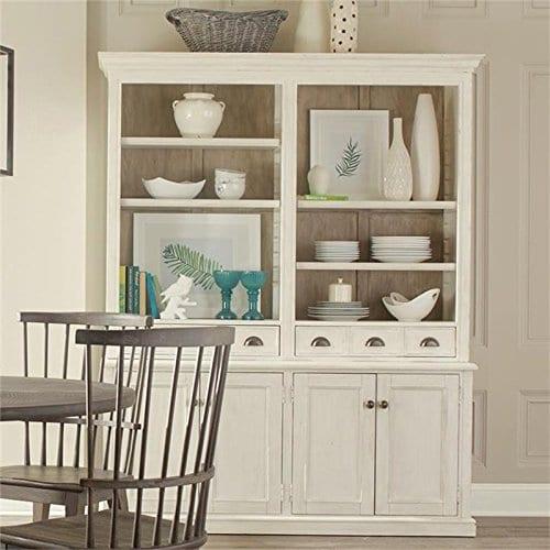Riverside Furniture Juniper 4 Door Buffet In Chalk 0 0