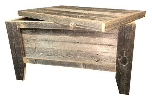Rustic Barn Wood Trunk 0 1