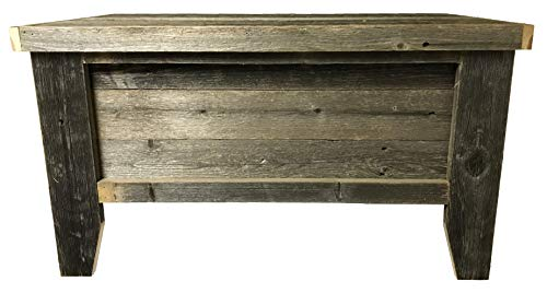 Rustic Barn Wood Trunk 0 2
