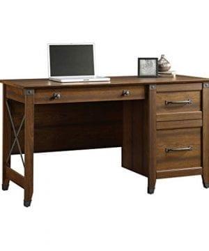 Sauder 412920 Carson Forge Desk L 5319 X W 2264 X H 2980 Washington Cherry Finish 0 0 300x360