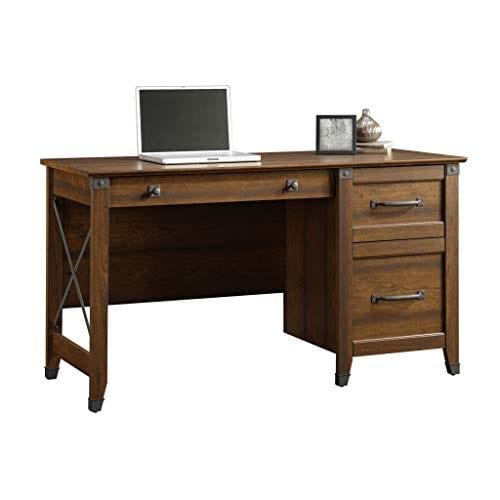 Sauder 412920 Carson Forge Desk L 5319 X W 2264 X H 2980 Washington Cherry Finish 0 0