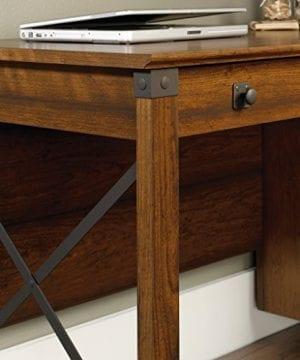 Sauder 412920 Carson Forge Desk L 5319 X W 2264 X H 2980 Washington Cherry Finish 0 3 300x360