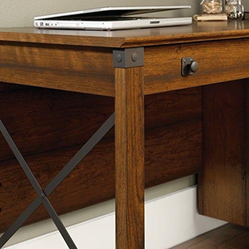 Sauder 412920 Carson Forge Desk L 5319 X W 2264 X H 2980 Washington Cherry Finish 0 3