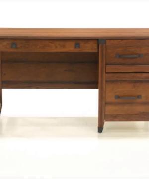 Sauder 412920 Carson Forge Desk L 5319 X W 2264 X H 2980 Washington Cherry Finish 0 300x360