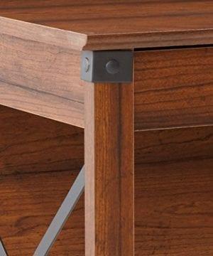 Sauder 412920 Carson Forge Desk L 5319 X W 2264 X H 2980 Washington Cherry Finish 0 4 300x360