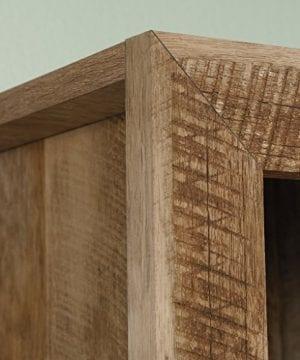 Sauder 420409 Dakota Pass Library With Doors L 3382 X W 1252 X H 7110 Craftsman Oak Finish 0 3 300x360