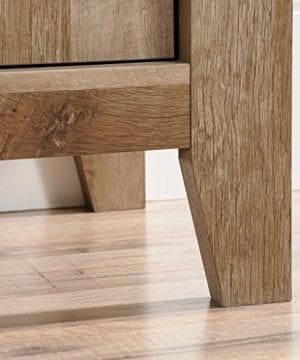 Sauder 420409 Dakota Pass Library With Doors L 3382 X W 1252 X H 7110 Craftsman Oak Finish 0 4 300x360
