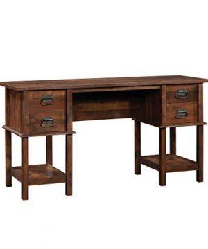 Sauder 420760 Viabella Desk L 5906 X W 1945 X H 3004 Curado Cherry Finish 0 300x360