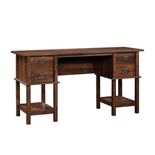 Miraculous Sauder 420760 Viabella Desk L 59 06 X W 19 45 X H 30 04 Curado Cherry Finish Ncnpc Chair Design For Home Ncnpcorg