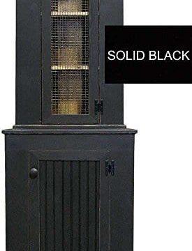 Sawdust City Corner Hutch Solid Black Many Colors Options 0 275x360