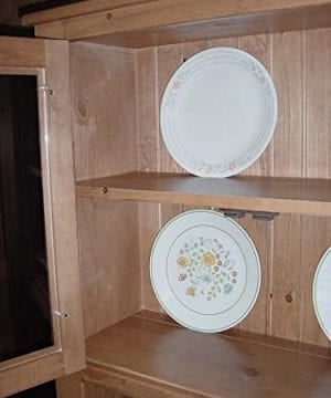Solid Wood Pine Hoosier Buffet Server And Hutch With Cupboard Storage Space Primitive Paint Black 0 1 300x360