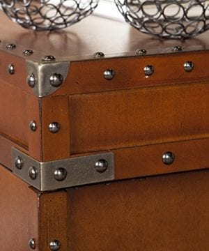 Southern Enterprises Steamer Trunk End Table 0 1 300x360