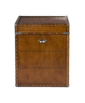 Southern Enterprises Steamer Trunk End Table 0 3 300x360