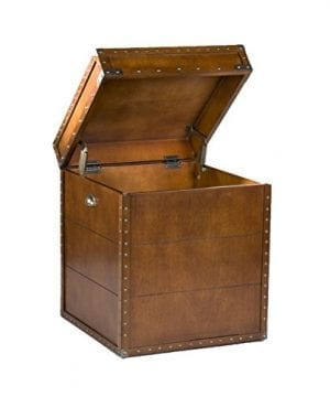 Southern Enterprises Steamer Trunk End Table 0 4 300x360