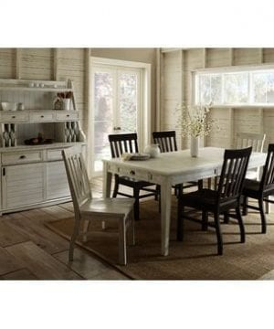 Steve Silver Cayla Buffet With Hutch In Antique White 0 2 300x360