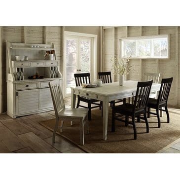 Steve Silver Cayla Buffet With Hutch In Antique White 0 2
