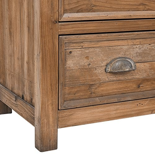 Stone Beam Bryson Narrow Bookcase 197W Wood 0 0