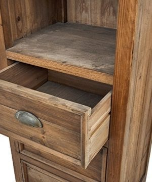 Stone Beam Bryson Narrow Bookcase 197W Wood 0 1 300x360