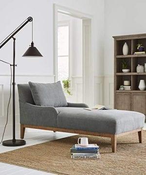 Stone Beam Casual Wood Bookcase 36W Grey 0 4 300x360