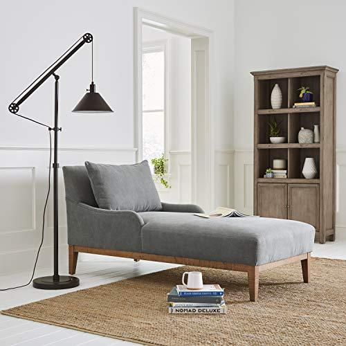 Stone Beam Casual Wood Bookcase 36W Grey 0 4