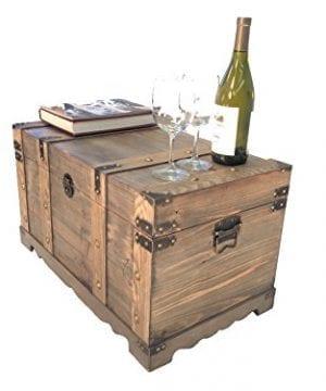 Styled Shopping Huntington All Cedar Medium Wood Storage Trunk Wooden Treasure Chest 0 0 300x360