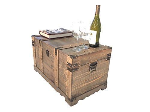 Styled Shopping Huntington All Cedar Medium Wood Storage Trunk Wooden Treasure Chest 0 0