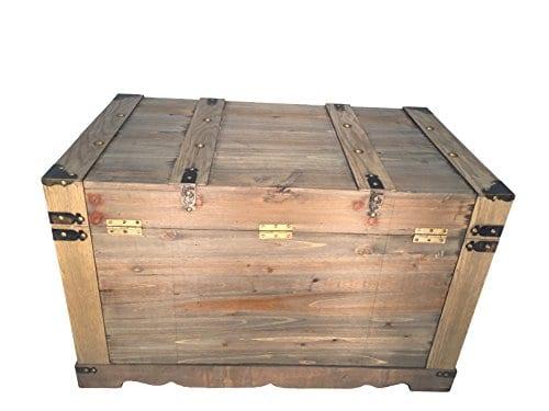 Styled Shopping Huntington All Cedar Medium Wood Storage Trunk Wooden Treasure Chest 0 1