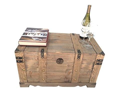 Styled Shopping Huntington All Cedar Medium Wood Storage Trunk Wooden Treasure Chest 0