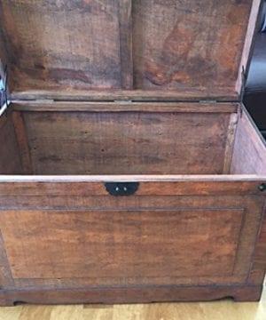 Styled Shopping Newport Medium Wood Storage Trunk Wooden Treasure Chest Brown 0 1 300x360