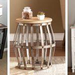 farmhouse accent tables