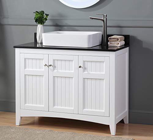 42 Thomasville Farmhouse White Vessel Sink Bathroom Vanity Zk 77888gt Farmhouse Goals