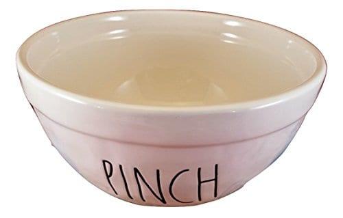 Artisan Collection Rae Dunn Set Of 3 Nesting Mixing Ceramic Bowls Pinch Dash Mix 0 0