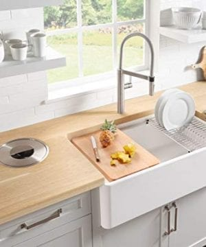 Blanco 523026 Profina Fireclay 36 Apron Front Farmhouse Kitchen Sink With Cutting Board White Farmhouse Goals
