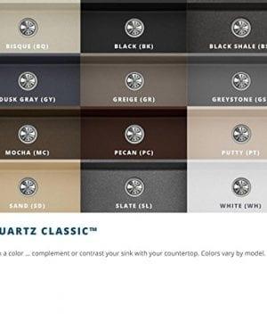 Elkay Quartz Classic ELGU2522WH0 White Single Bowl Undermount Sink 0 4 300x360