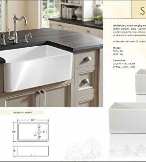 Finefixtures Sutton 30 Fireclay Sink 0 4 300x333