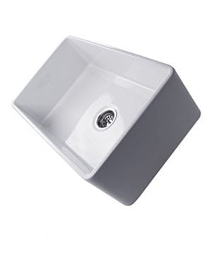 Highpoint Collection 30 Inch Single Bowl Fireclay Ceramic Farmhouse Kitchen Sink 0 4 300x360