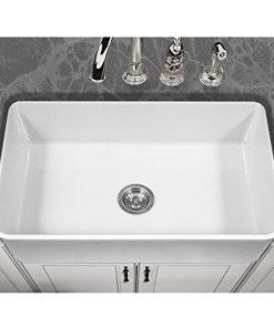 Houzer-PTG-4300-WH-Platus-Series-Apron-Front-Fireclay-Single-Bowl-Kitchen-Sink-33-White-0-0