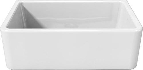 Latoscana 30 Reversible Fireclay Farmhouse Sink LFS3018W 0 0
