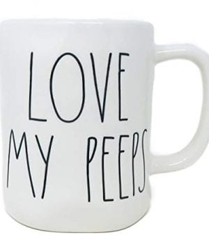 Love My Peeps Rae Dunn Coffee Mug Artisan Collection By Magenta Easter 0 0 300x360