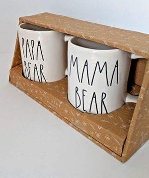 RAE DUNN MAMA BEAR PAPA BEAR BOXED MUG SET 0 1 300x360