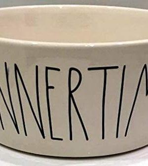 Rae Dun Magenta Ceramic PetDog Feeding Bowl DINNERTIME Extra Large Diameter 8 Inch 0 300x336