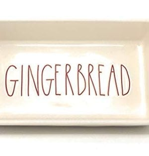 Rae Dunn Artisan Collection Bake GINGERBREAD PAN 0 300x315